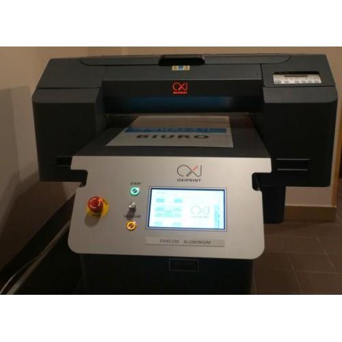 OXIPRINT DX45100 ALUMINIUM планшетный принтер для металлографики с вакуумной нагревательной плитой